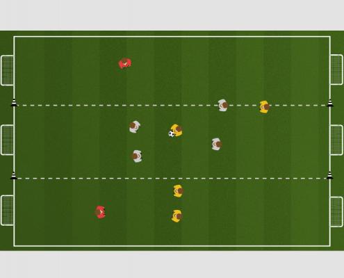 Passing 6 Goal Game 2